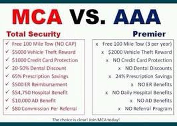 Compare The Benefits Welcome To Theresa 39 S Mca Site What